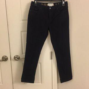 Kate Spade Dark wash ankle skinny Jeans 27